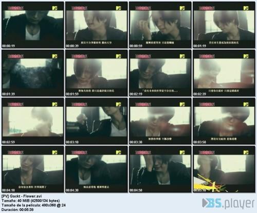 [PV] Gackt - Flower_idx